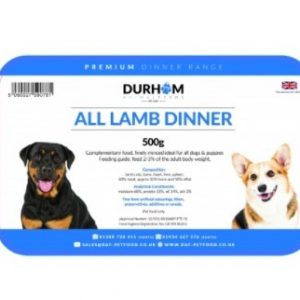 All Lamb dinner