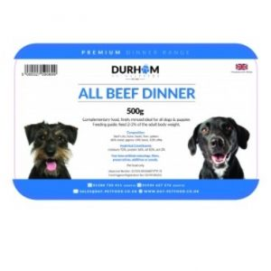 All beef dinner