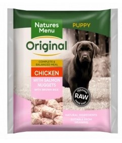 Chicken With Salmon Nuggets FOR PUPPIES