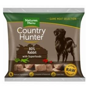 Country Hunter Raw Nuggets, Rabbit with superfoods