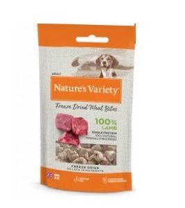 Natures Menu Complete Freeze Dried Lamb bites