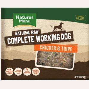 Natures Menu Complete working dog Chicken & Tripe