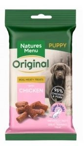 Real Meaty Treats with Chicken FOR PUPPIES
