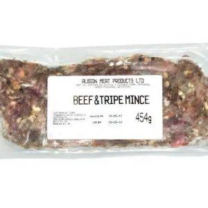 breeders range beef & tripe mince