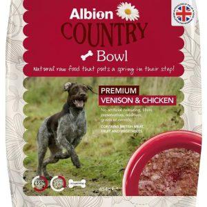 venison and chicken
