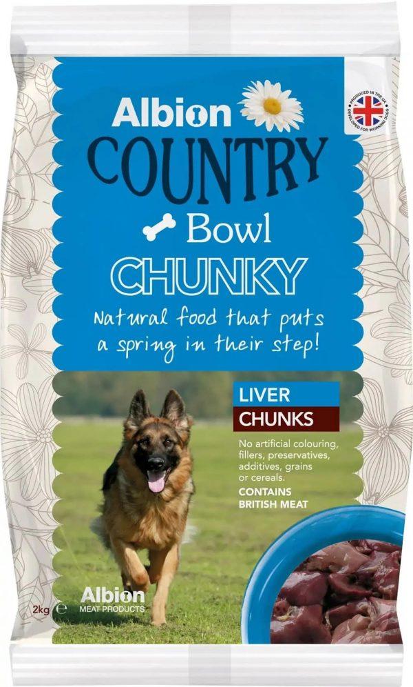 liver chunks