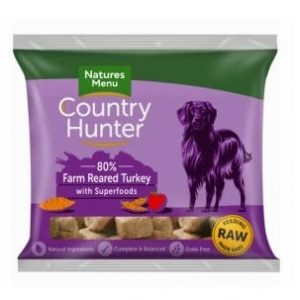 Natures menu country hunter Turkey with superfoods